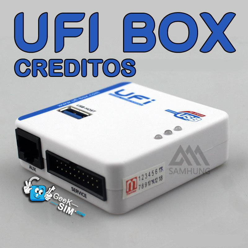 Creditos-UFI-Box-Dongle