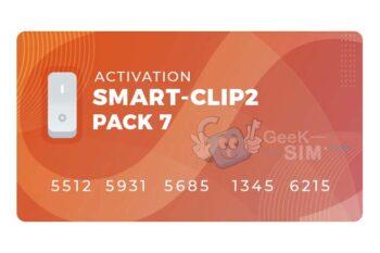 Activacion Pack 7 para Smart Clip 2