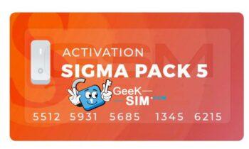 Activacion Sigma Pack 5