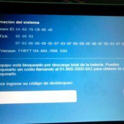 Desbloqueo Tableta SEP via Codigo Unlock