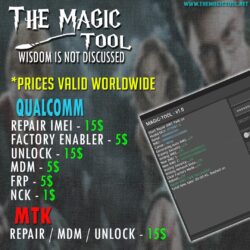 Creditos / Logs para TheMagicTool