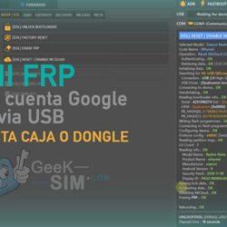 Eliminar FRP (Cuenta Google) de Xiaomi via Software