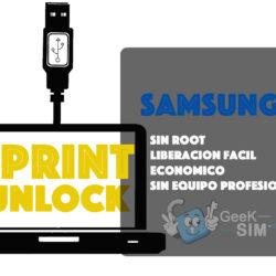 Liberar / Unlock Samsung Sprint [Todos los Modelos]