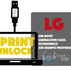 Liberar / Unlock LG Sprint [Todos los Modelos]