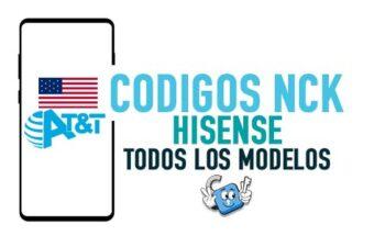 Codigos NCK para Liberar Hisense AT&T USA [Todos los Modelos]