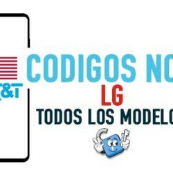 Codigos NCK para Liberar LG AT&T USA [Todos los Modelos]