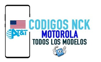 Codigos NCK para Liberar Motorola AT&T USA [Todos los Modelos]