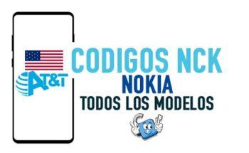 Codigos NCK para Liberar Nokia AT&T USA [Todos los Modelos]