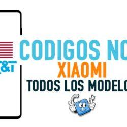 Codigos NCK para Liberar Xiaomi AT&T USA [Todos los Modelos]
