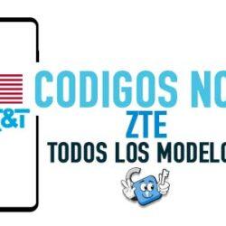 Codigos NCK para Liberar ZTE AT&T USA [Todos los Modelos]