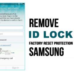 Eliminar Cuenta Google Samsung ID Lock Remove (Remoto)