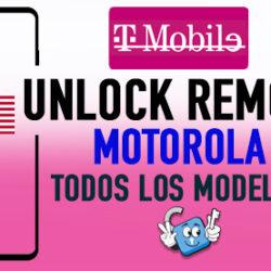 Liberar Motorola T-Mobile USA Unlock Remoto [Todos los Modelos]