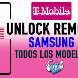 Liberar Samsung T-Mobile USA Unlock Remoto [Todos los Modelos]