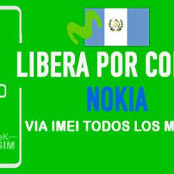 Liberar Nokia Movistar Guatemala via Codigo IMEI [Todos los Modelos]