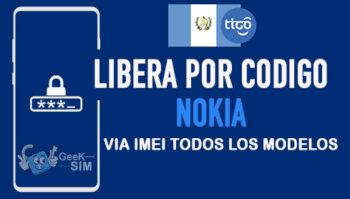 Liberar Nokia Tigo Guatemala via Codigo IMEI [Todos los Modelos]