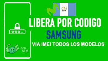 Liberar Samsung Movistar Guatemala via Codigo IMEI [Todos los Modelos]