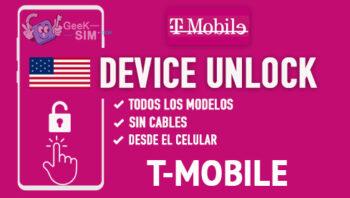 Liberar Telefonos T-Mobile USA via Device Unlock [Todos los Modelos]